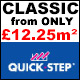 Quick-Step Classic Laminate FROM ONLY £12.25m²!