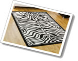 Wildlife Rugs Zebra Skin