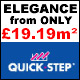 Quick-Step Elegance Laminate FROM ONLY £19.19m�!