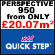 Quick-Step Perspective Laminate FROM ONLY £20.07m²!