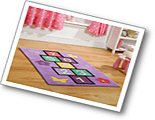 Childrens Play Hopscotch Rugs
