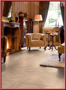 QuickStep Arte Versailles White Oiled laminate flooring tiles