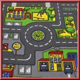 Kids Roadmap Rug