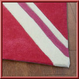 Kids Mini Union Jack Bright Pink Rugs