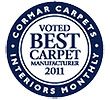 Voted Best Carpet Manufacturer 2011
