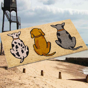 Genial Dogs Coir Door Mats