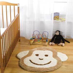 Childrens Rugs Kids Cheeky Monkey Nursery Rugs Buy