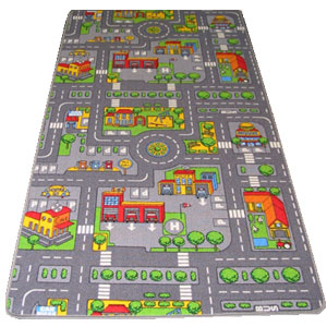 Childrens Rugs Kids Road Map Playmat Rug Buy Childrens