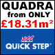Quick-Step Quadra Laminate FROM ONLY £18.31m²!
