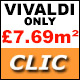 Vivaldi Clic Laminate ONLY £7.69m�!